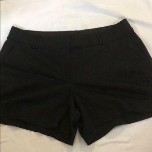 Lane Bryant dress shorts Black size 16 & 18 in EUC